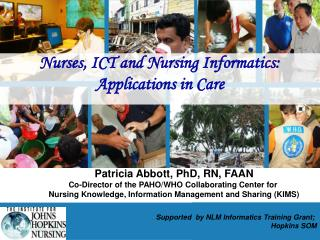 Medical caretakers and ICT Nursing