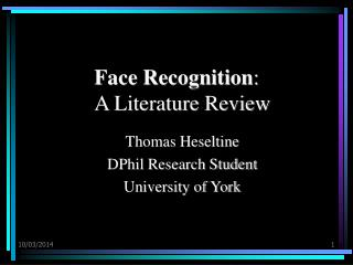 Face Recognition: A Literature Review