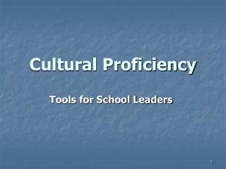 Social Proficiency