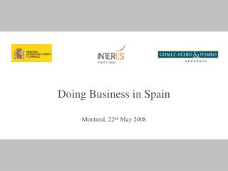 Working together in Spain