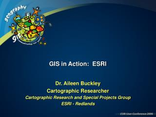 GIS in real life: ESRI