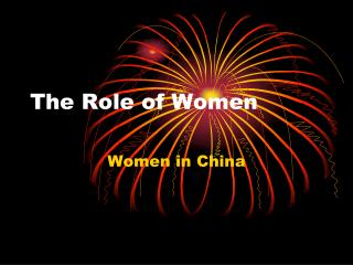 The Role of Women