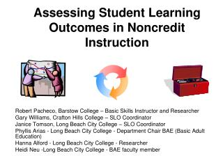 Evaluating Student Learning Outcomes in Noncredit Instruction