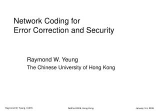 System Coding for Error Correction and Security