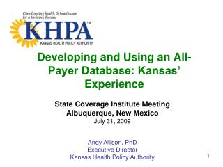 Creating and Using an All-Payer Database: Kansas Experience