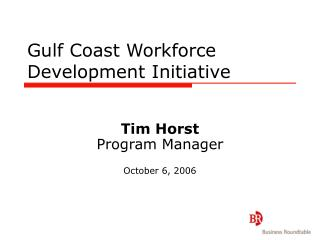 Inlet Coast Workforce Development Initiative