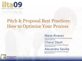 Pitch Proposal Best Practices: How to Optimize Your Process