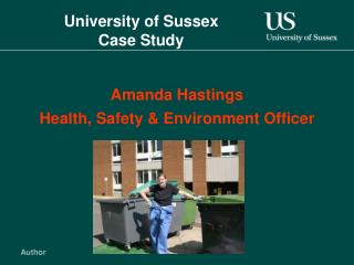 College of Sussex Case Study
