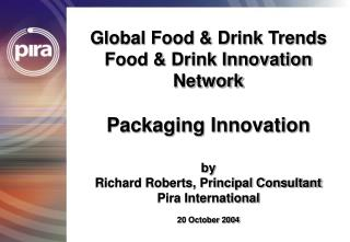 Worldwide Food Drink Trends Food Drink Innovation Network ...