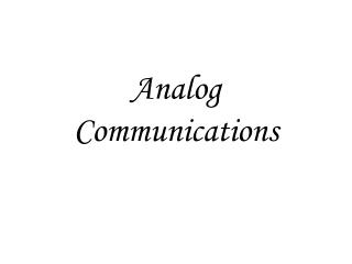 Simple Communications
