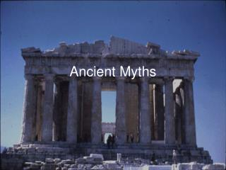 Antiquated Myths