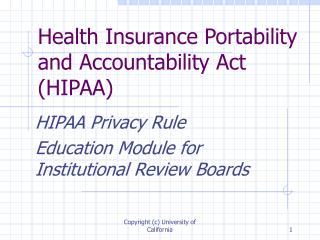 Wellbeing Insurance Portability and Accountability Act HIPAA