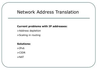 System Address Translation