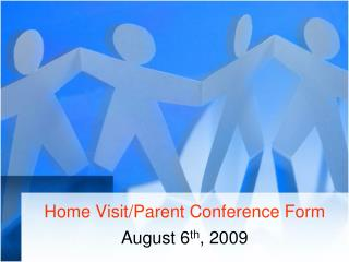 Home VisitParent Conference Form