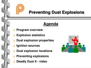 Anticipating Dust Explosions