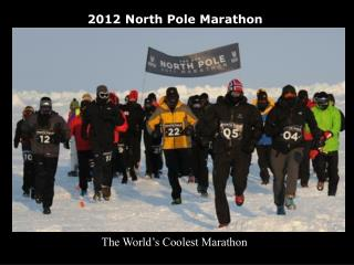 2011 North Pole Marathon