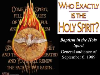 Absolution in the Holy Spirit General group of onlookers of September 6, 1989