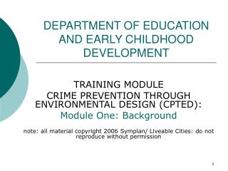 Ppt Division Of Education And Early Childhood Development Powerpoint Presentation 82303