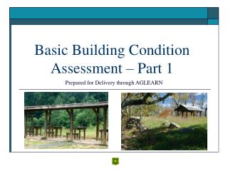 Fundamental Building Condition Assessment Part 1