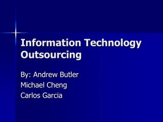 Data Technology Outsourcing
