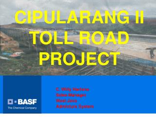 CIPULARANG II TOLL ROAD PROJECT