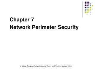 91.561 Computer Network Security I