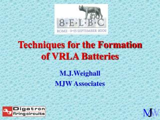 Procedures for the Formation of VRLA Batteries