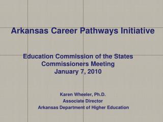 Arkansas Career Pathways Initiative