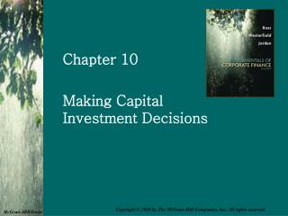 Settling on Capital Investment Decisions