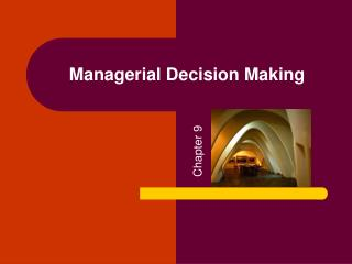 Administrative Decision Making