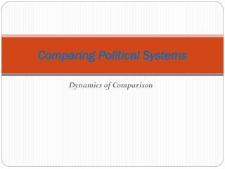 Looking at Political Systems