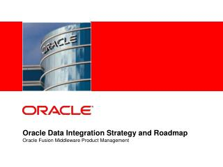Prophet Data Integration Strategy and Roadmap Oracle Fusion ...