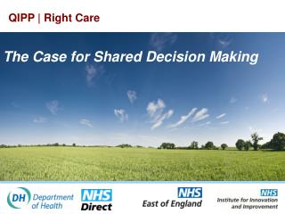 What is shared choice making