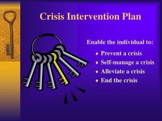 Emergency Intervention Plan