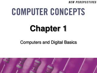 PCs and Digital Basics