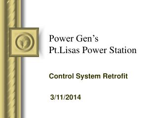 Power Gen s Pt.Lisas Power Station