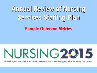 Yearly Review of Nursing Services Staffing Plan