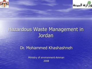 Unsafe Waste Management in Jordan