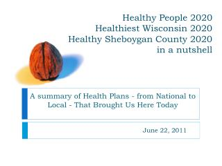Sound People 2020 Healthiest Wisconsin 2020 Healthy Sheboygan County 2020 more or less