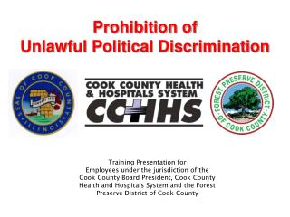 Preclusion of Unlawful Political Discrimination