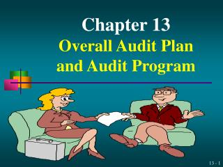 Part 13 Overall Audit Plan and Audit Program