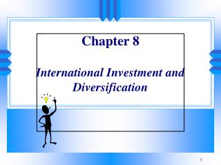 Part 8 International Investment and Diversification