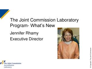 The Joint Commission Laboratory Program-What s New