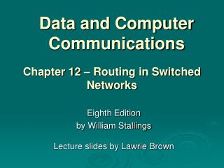 Information and Computer Communications