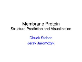 Layer Protein Structure Prediction and Visualization