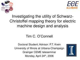 Exploring the utility of Schwarz-Christoffel mapping hypothesis for electric machine configuration and investigation