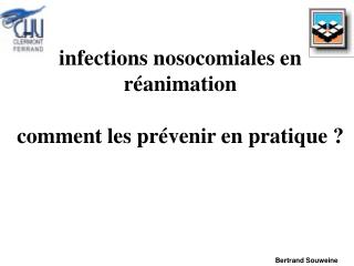 Diseases nosocomiales en r activity remark les pr venir en pratique
