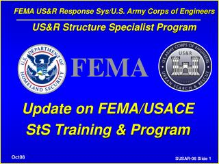U.S. Armed force Corps of Engineers Urban Search and Rescue Program