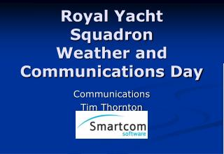Illustrious Yacht Squadron Weather and Communications Day