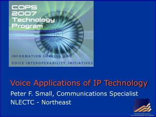 Voice Applications of IP Technology